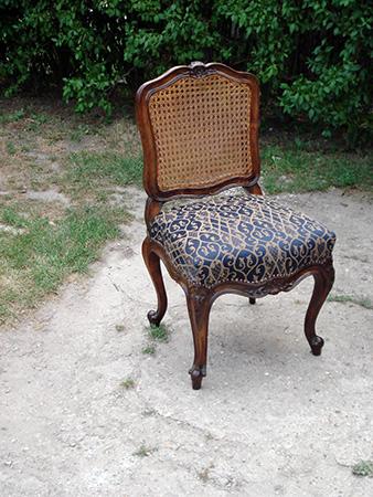 Barokk szék áthúzás, javítás | Debreczeni László Kárpitos